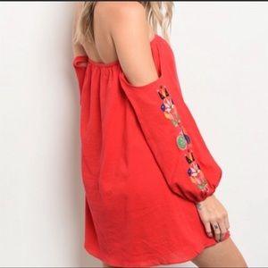 VA VA Embroidered Dress